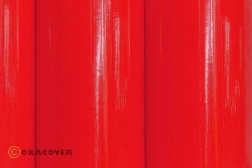 Oracover Easyplot 82-026-010 Plotterfolie (l x b) 10000 mm x 200 mm Transparant rood (fluorescerend)