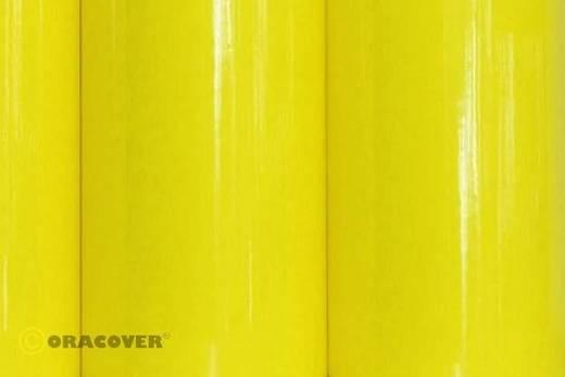 Oracover Easyplot 80-035-002 Plotterfolie (l x b) 2000 mm x 600 mm Transparant geel (fluorescerend)