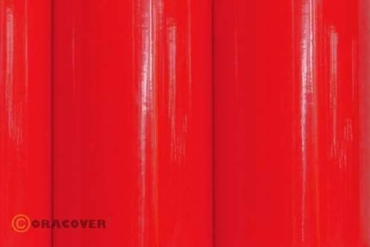 Oracover Easyplot 83-026-010 Plotterfolie (l x b) 10 m x 30 cm Transparant rood (fluorescerend)