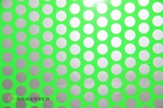 Oracover Easyplot Fun 1 91-041-091-010 Plotterfolie (l x b) 10000 mm x 380 mm Groend-zilver (fluorescerend)