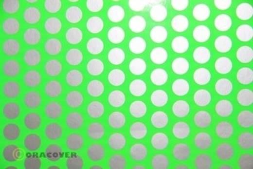 Oracover Easyplot Fun 1 93-041-091-002 Plotterfolie (l x b) 2000 mm x 300 mm Groend-zilver (fluorescerend)