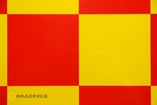 Strijkfolie Oracover 691-033-023-010 Fun 6 (l x b) 10 m x 60 cm Geel-rood