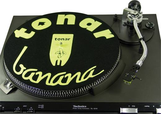 Tonar Banana Slipmat Turntable