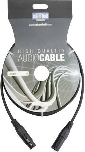 DMX-kabel XLR-male/XLR-female Zwart XLR male/female
