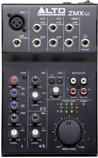 Alto ZMX52 Console-mengpaneel Aantal kanalen:3