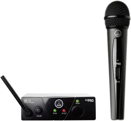 AKG WMS40 Draadloze microfoonset Radiografisch Schakelaar