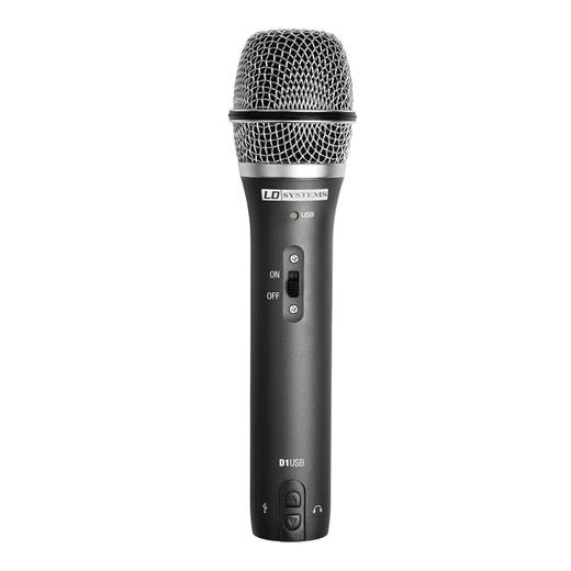 LD Systems D1USB USB-microfoon Kabelgebonden