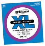 D'Addario EXL120 elektrische gitaar snarenset
