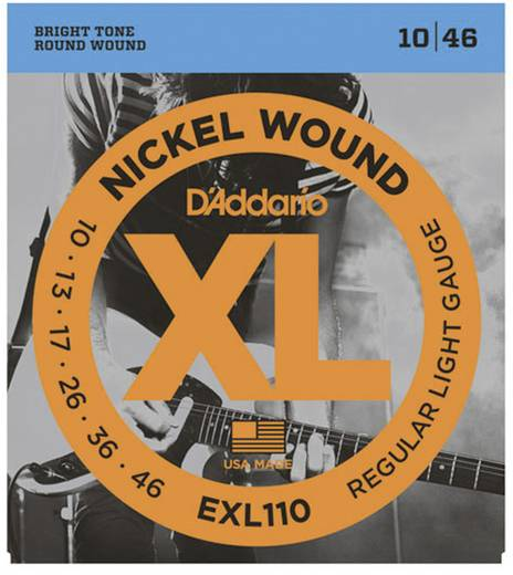 D´Addario EXL110 Regular Light Elektrische gitaarsnaar