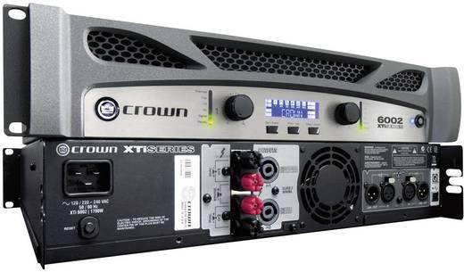 Crown XTi 6002 PA-versterker RMS vermogen per kanaal op 4 Ω: 2100 W