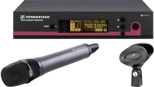 Sennheiser ew 145 G3-1G8 Draadloze microfoonset Radiografisch Incl. klem