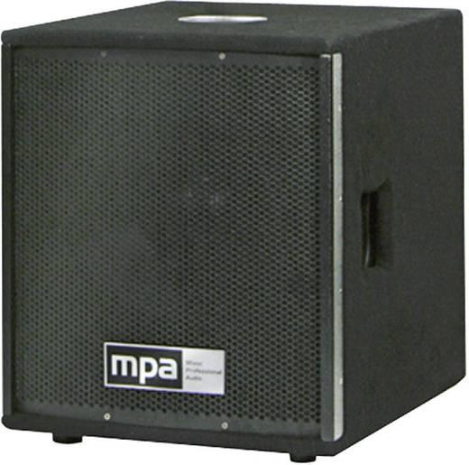 Actieve PA subwoofer 38 cm (15 inch) mpa M.A.R.L.I.S. Subwoofer 400 W 1 stuks