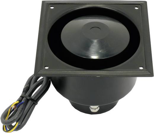ELA-drukkamerluidspreker Visaton DK 121 15 W 100 V Zwart 1 stuks