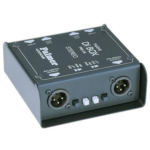 Passieve DI box 2-kanaals Palmer Audio Pro PAN04