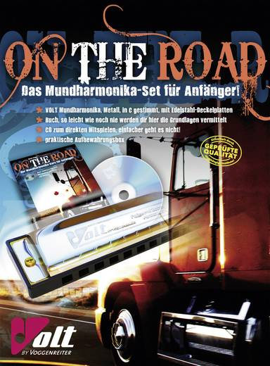 Volt On the Road mondharmonica set