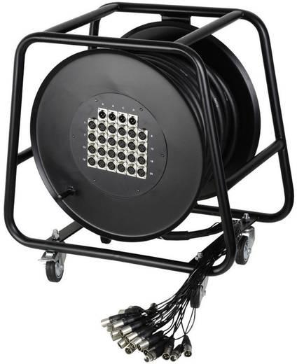 AH Cables K20C50D Multicore kabelhaspel 50 m Aantal ingangen:16 x Aantal uitgangen:4 x