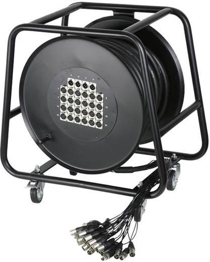 AH Cables K28C30D Multicore kabelhaspel 30 m Aantal ingangen:24 x Aantal uitgangen:4 x