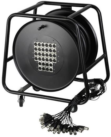 AH Cables K32C30D Multicore kabelhaspel 30 m Aantal ingangen:24 x Aantal uitgangen:8 x