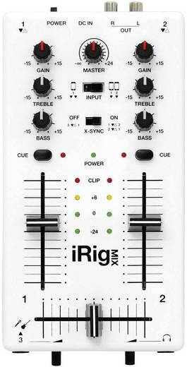 IK Multimedia iRig Mix 2-kanaals DJ-mixer