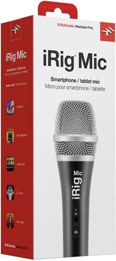 iRig Mic Hand Smartphone microfoon Zendmethode: Kabelgebonden Incl. klem