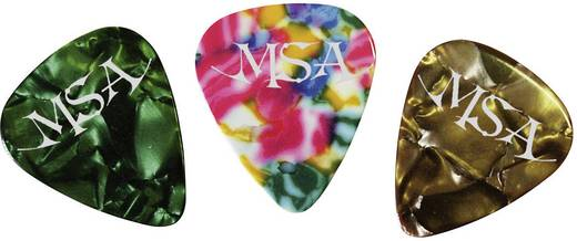 MSA Musikinstrumente AP 12 AS Plectrumset Medium 12 stuks