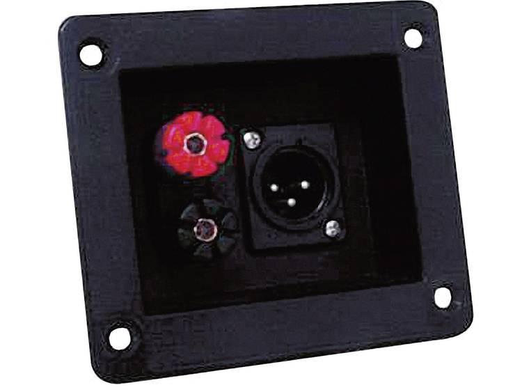 Luidspreker-schroefaansluiting XLR SKF041 1 stuks