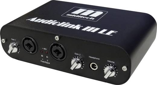 Audio interface MidiTech Audiolink III Incl. software