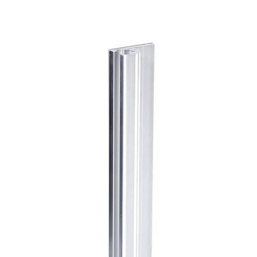 Geleiders aluminium, eenvoudig, traploos