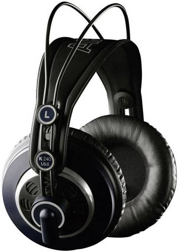 AKG Harman K240 MKII Studio Koptelefoon Over Ear Zwart