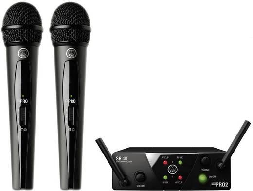 AKG WMS40MiniDual Draadloze microfoonset