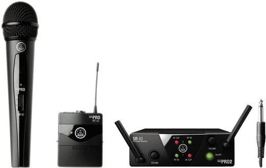 AKG WMS40MiniDual Draadloze microfoonset Radiografisch