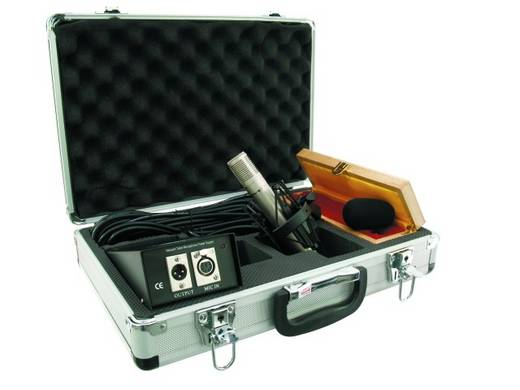 Omnitronic IC-1005 PRO Hand Instrumenten microfoon Zendmethode: Kabelgebonden