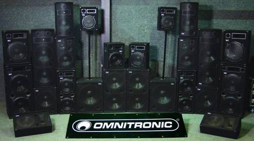 Passieve PA speaker 30 cm (12 inch) OmnitronicTX-1220350 W1 stuks