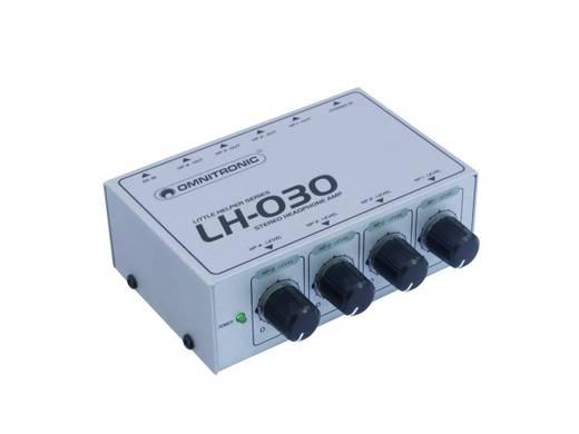 Omnitronic LH-030 Koptelefoonversterker Wit