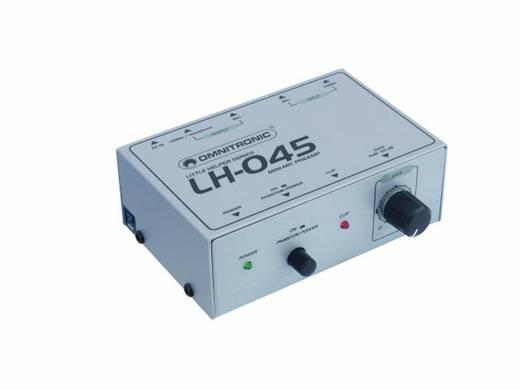 1-kanaals Microfoonvoorversterker Omnitronic LH-045
