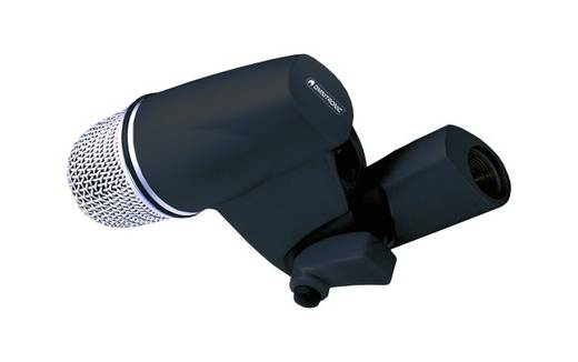 Omnitronic BDM-1000 PRO Instrumenten microfoon Zendmethode: Kabelgebonden