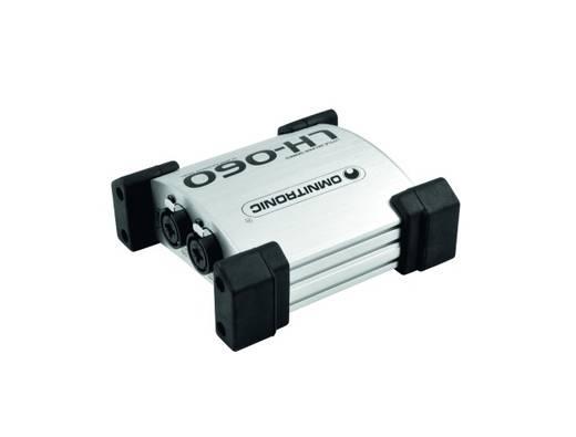 Passieve DI box 2-kanaals Omnitronic LH-060 Dual-Pro Passiv