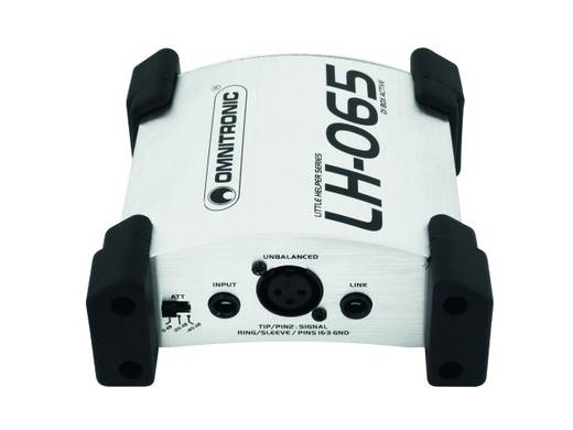Omnitronic LH-065 DI box actief