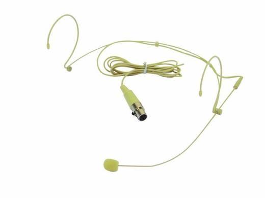 Omnitronic HS-1100 Headset Spraakmicrofoon Kabelgebonden Incl. windkap