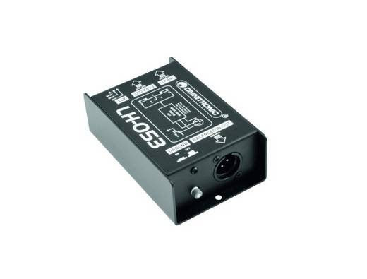 Passieve DI box 1-kanaals Omnitronic LH-053