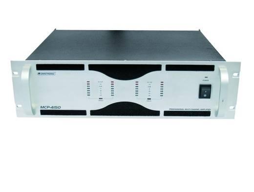 Omnitronic MCP-4150 PA-versterker RMS vermogen per kanaal op 4 Ω: 150 W