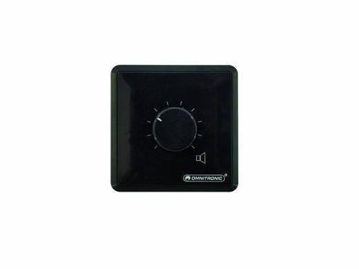 Omnitronic ELA-audiovolumeregelaar 10 W stereo zw