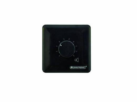 Omnitronic ELA-audiovolumeregelaar, 120 W mono zw