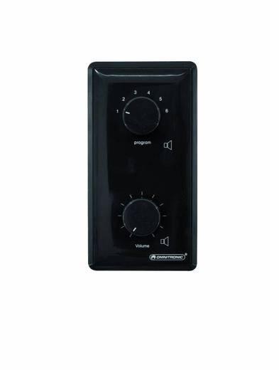 Omnitronic ELA-audiovolumeregelaar/programmakiezer 45 W/z