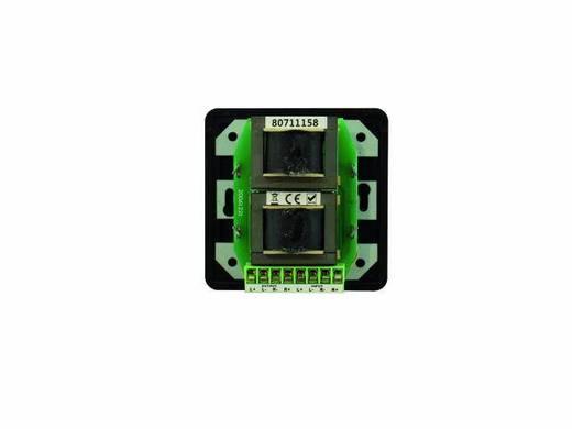 Omnitronic ELA-audiovolumeregelaar 5 W stereo zw