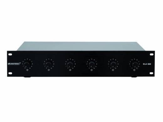 Omnitronic ELA 6M-zones audiovolumeregelaar 10 W zw