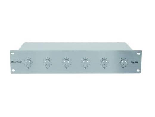 Omnitronic ELA 6M-zones audiovolumeregelaar 10 W zi