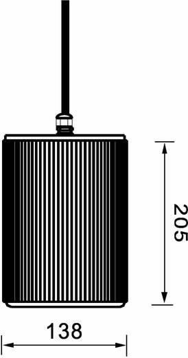 Omnitronic WP-20W ELA-plafondluidspreker 20 W 100 V Wit 1 stuks