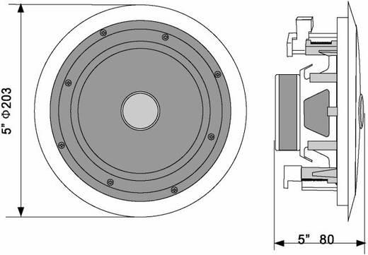 Omnitronic CST-5 Inbouwluidspreker