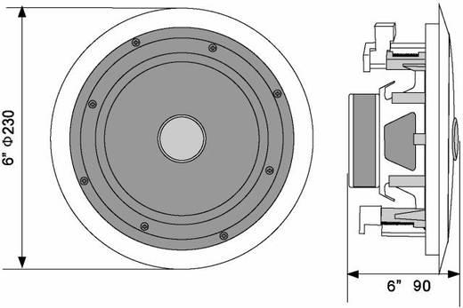 Omnitronic CST-6 Inbouwluidspreker